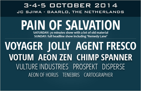 "Pain Of Salvation spelar ""Remedy Lane"" i sin helhet på ProgPower Europe 2014."