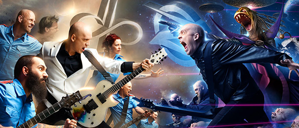 """Deathray"" ny textvideo från Devin Townsend Project."