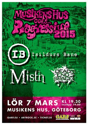 Musikens Hus Goes Progressive 2015.