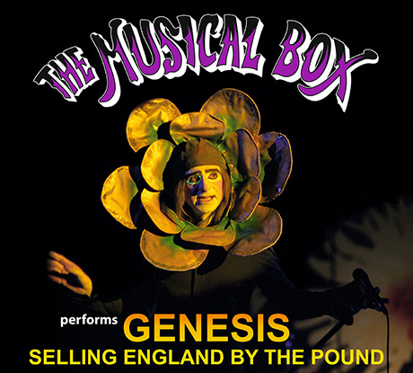 The Musical Box till Göteborg och framför Selling England By The Pound.