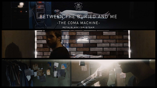 Between the Buried and Me, ny video – The Coma Machine.