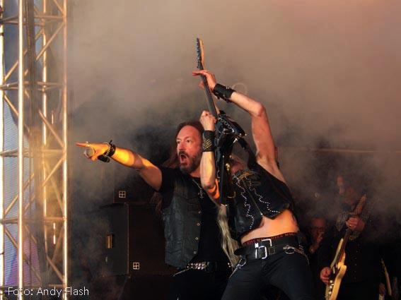 Setlists från Sweden Rock Festival 2015.