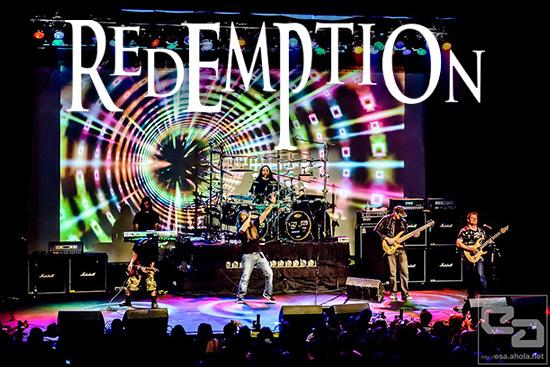 REDEMPTION har slutfört inspelningen av nytt album.