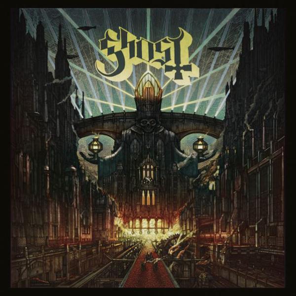 Ghost streamar nya fullängdaren Meliora.