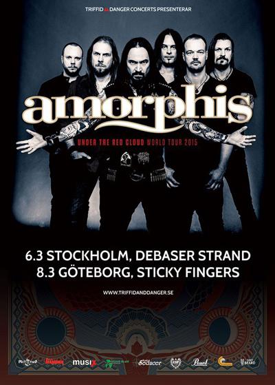 Amorphis till Sverige.