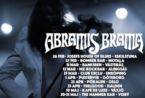 Abramis Brama till Alingsås 12:e mars.