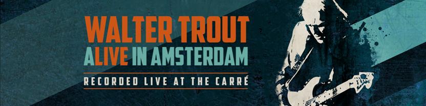 Walter Trout släpper livealbum!