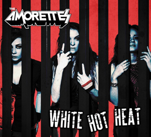 The Amorettes – White Hot Heat
