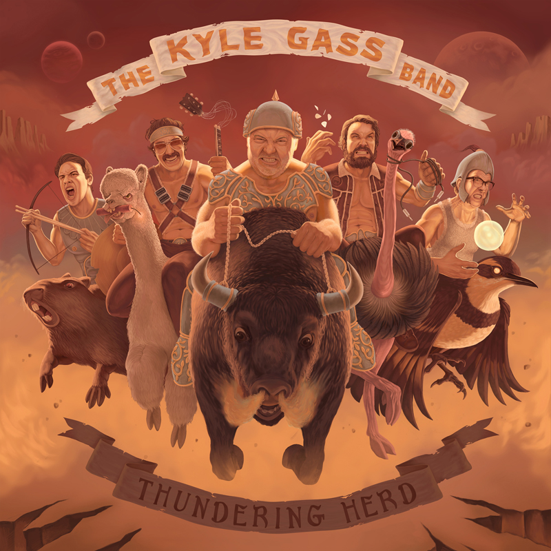 The Kyle Gass Band – Thundering Herd