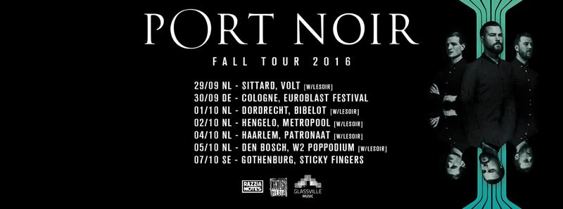 Port Noir till Sticky Fingers i oktober.