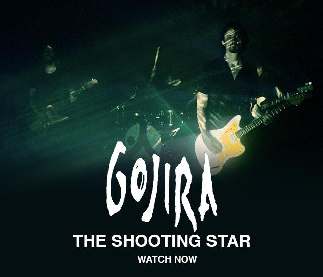 Gojira har lagt ut videon The Shooting Star.