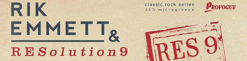 Rik Emmett & RESolution9 streamar spåret I Sing.