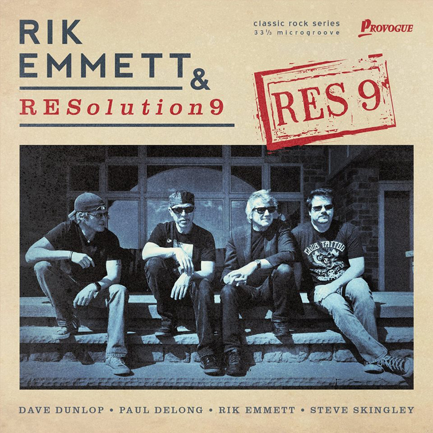 Rik Emmett & RESolution 9 – Res 9