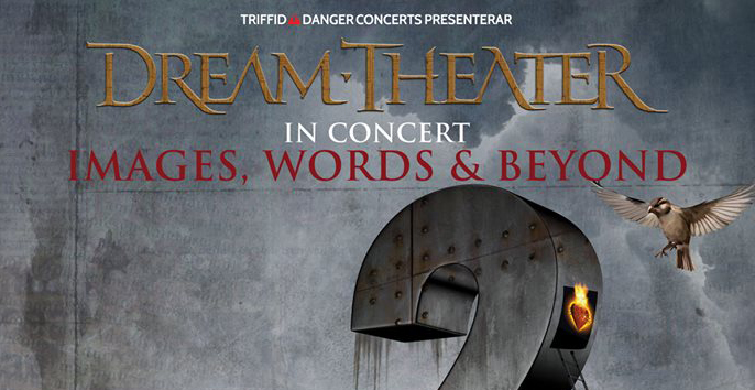 "Dream Theater annonserar turnén ""Images, Words & Beyond"" 2017."