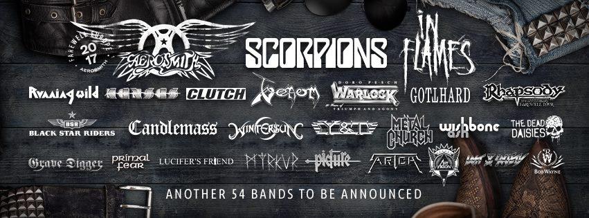 Kansas klar för Sweden Rock Festival 2017.