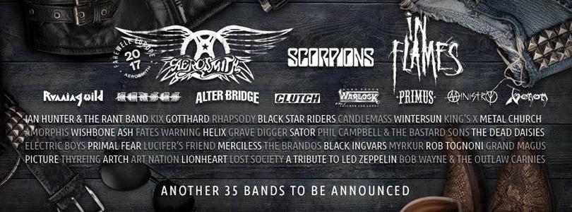 Ytterligare 19 akter klara för Sweden Rock Festival 2017.