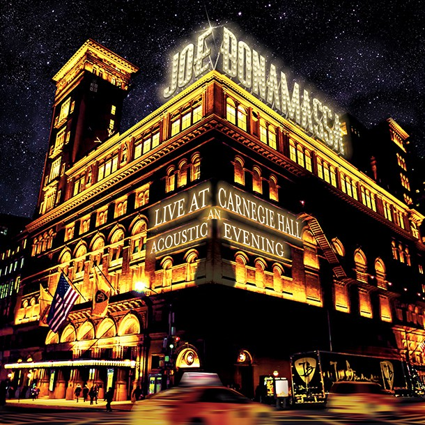 Joe Bonamassa – nytt smakprov från Live At Carnegie Hall – An Acoustic Evening