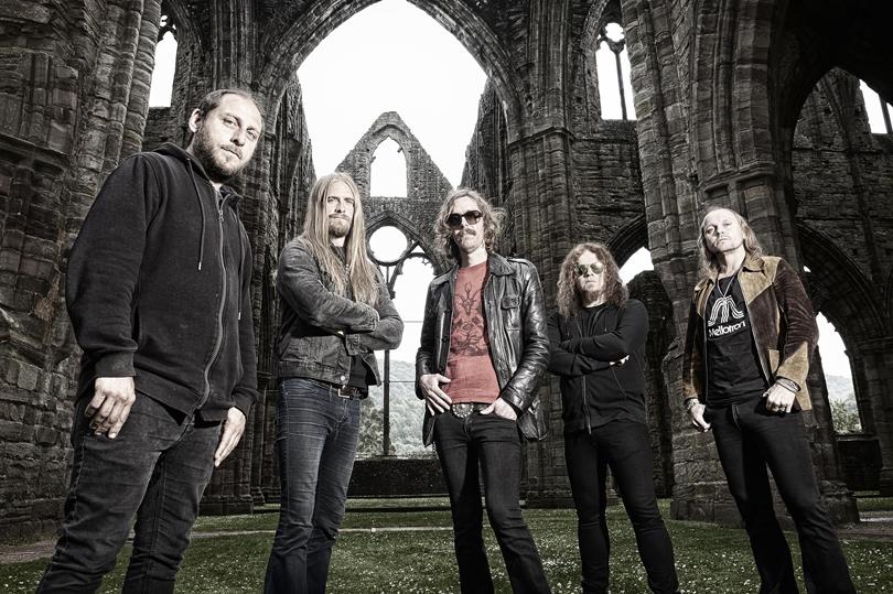 Opeth intar Liseberg för allra första gången.