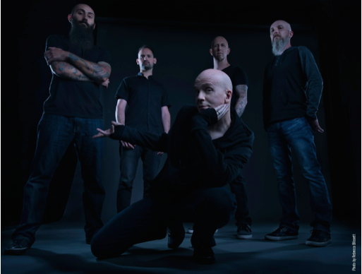 Devin Townsend Project – ny textvideo ute.