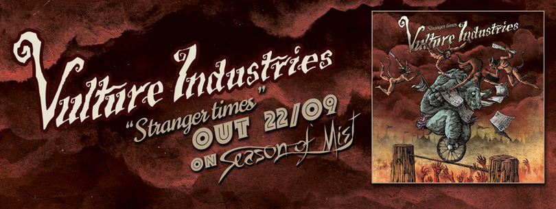 Vulture Industries – nytt album ute i september.