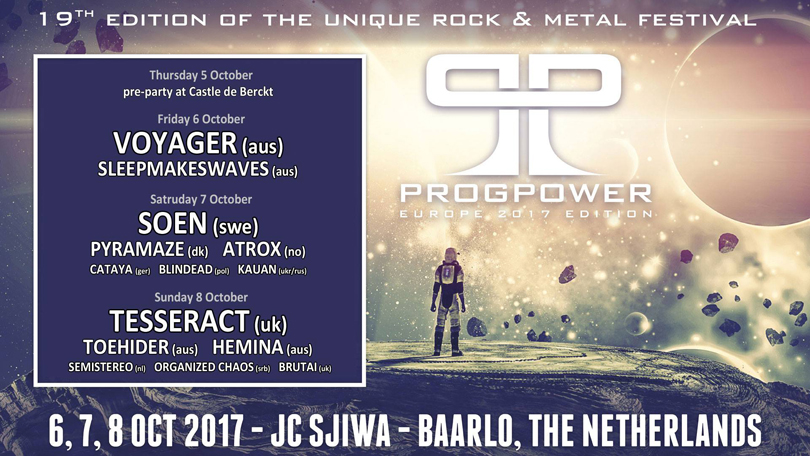 ProgPower Europe – Alla band klara.
