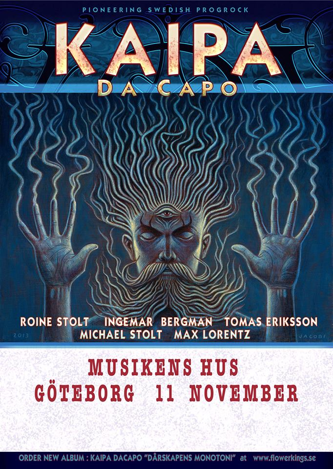 Kaipa Da Capo till Musikens Hus i november.