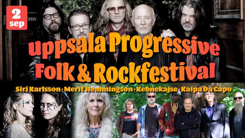 Uppsala Progressive Folk & RockFestival nu på Lördag.