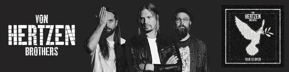 War Is Over – nya textvideon från Von Hertzen Brothers.