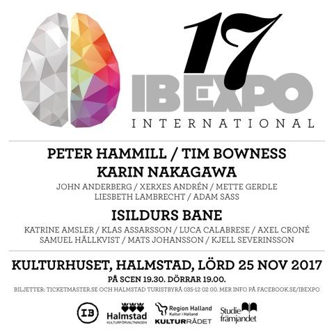 IB expo 2017 och nytt album med Isildurs Bane.