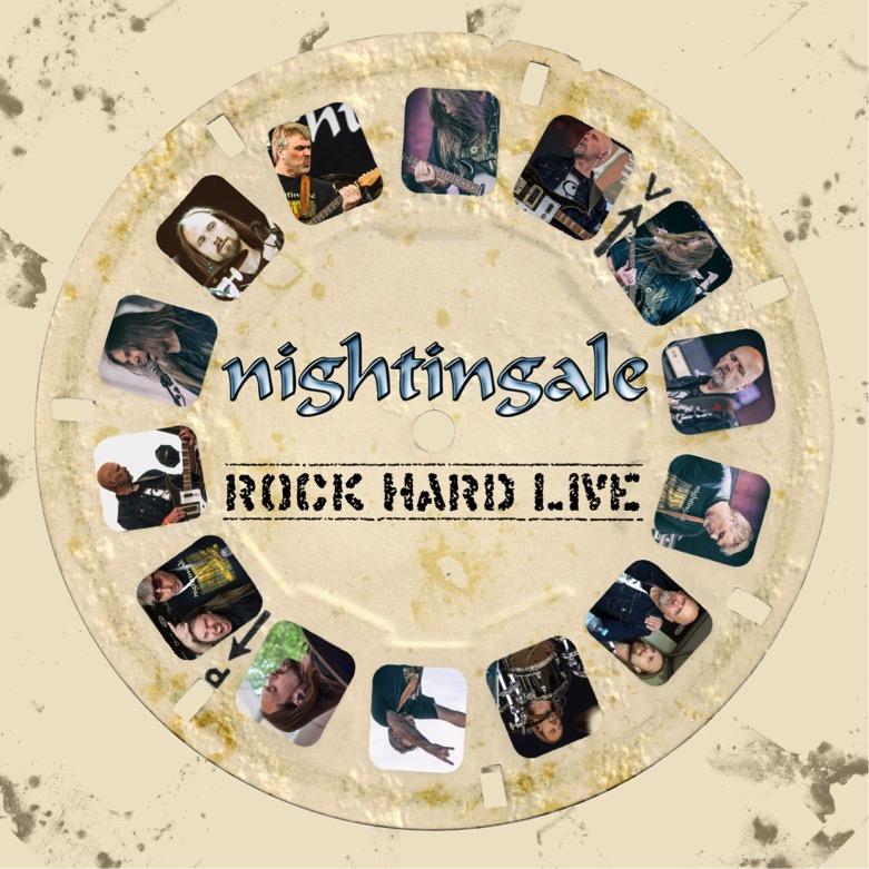 Black Tears – andra singeln ute från NIGHTINGALE´s  Rock Hard Live.