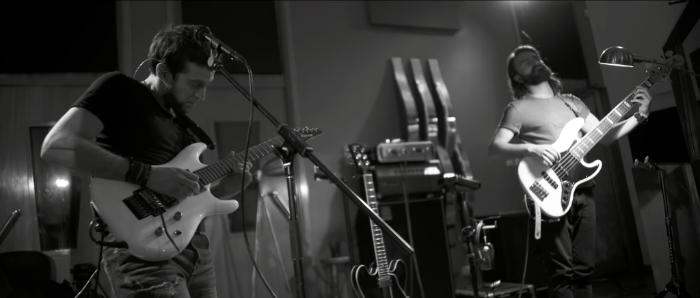 Clouds Motion (Live from Estudio del Sur) – nya studiovideon från Aisles.