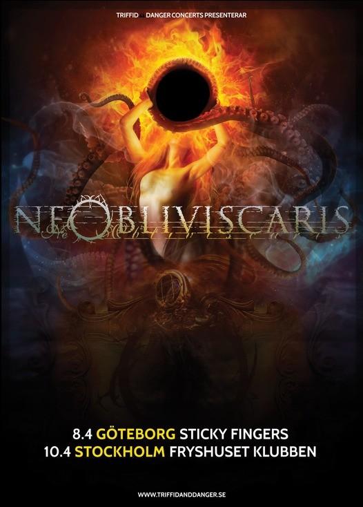 Ne Obliviscaris till Sverige för två konserter 2018.