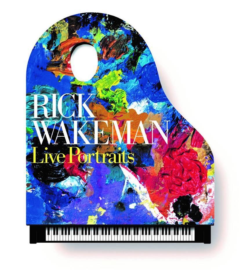 Rick Wakeman planerar liveversion av sitt album Piano Portraits.
