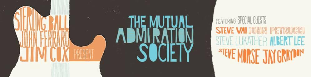 Sterling Ball, John Ferraro & Jim Cox släpper The Mutual Admiration Society.