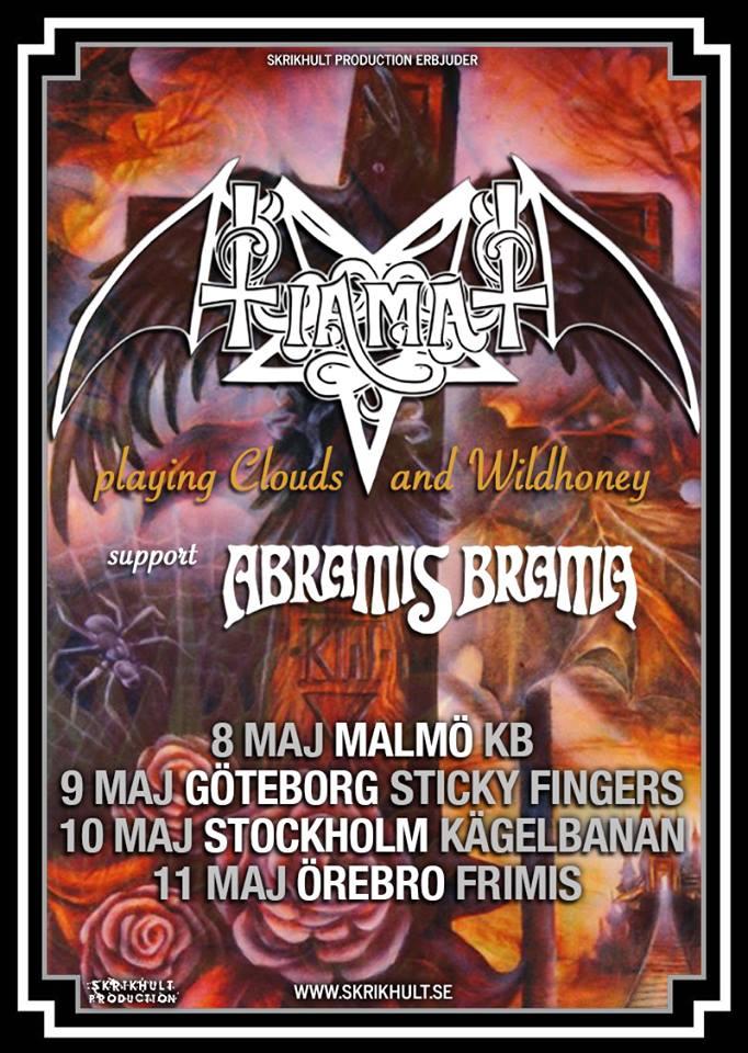Tiamat ger sig ut på de svenska vägarna.