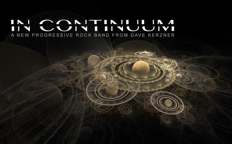 IN CONTINUUM – nytt progressivt band ser dagens ljus.