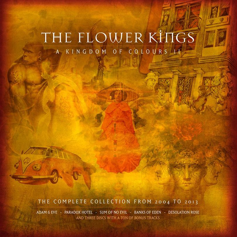 Ny samlingsbox från The Flower Kings.