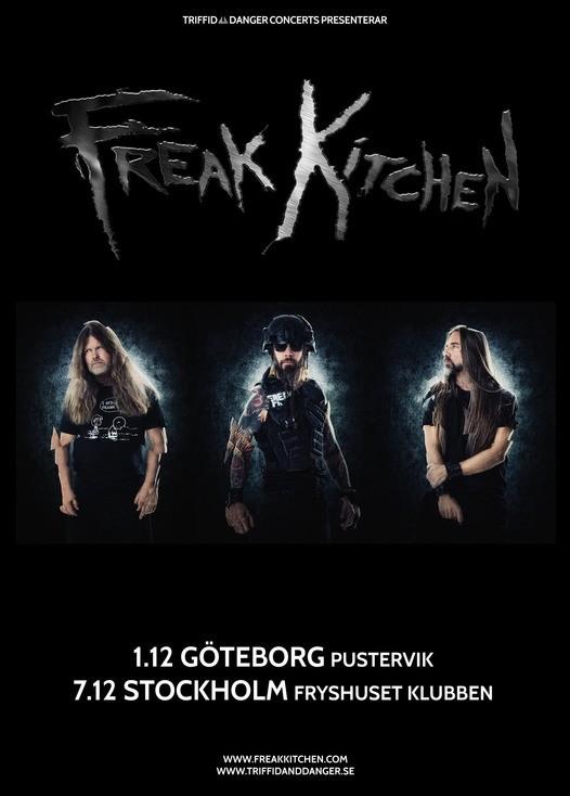 Freak Kitchen gör två svenska stopp i december