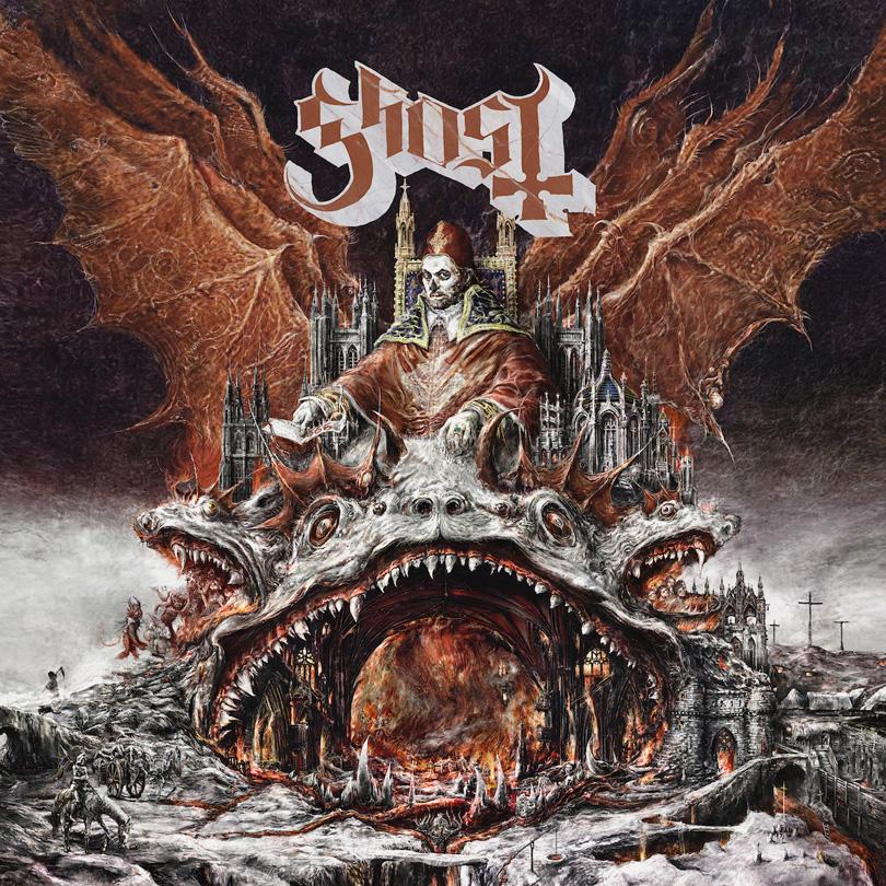Nya Ghost-plattan Prequelle släpps den 1:a juni.