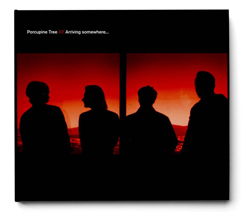 Porcupine Tree – Arriving Somewhere 2018 års edit med blue ray.