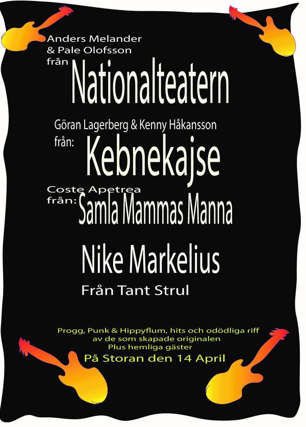 Proggkväll på Stora Teatern!