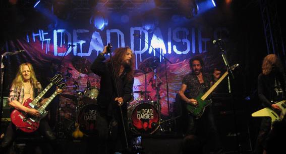 Setlist från The Dead Daisies spelning på Sticky Fingers ligger ute.