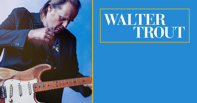 Walter Trout & Band till Göteborg i höst.