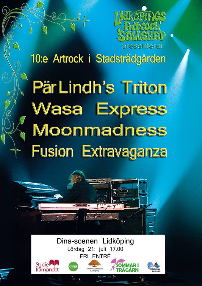 Artrock i Stadsträdgården firar 10-årsjubileum.