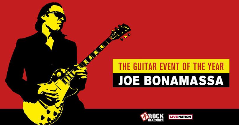 Joe Bonamassa till Göteborg i höst.