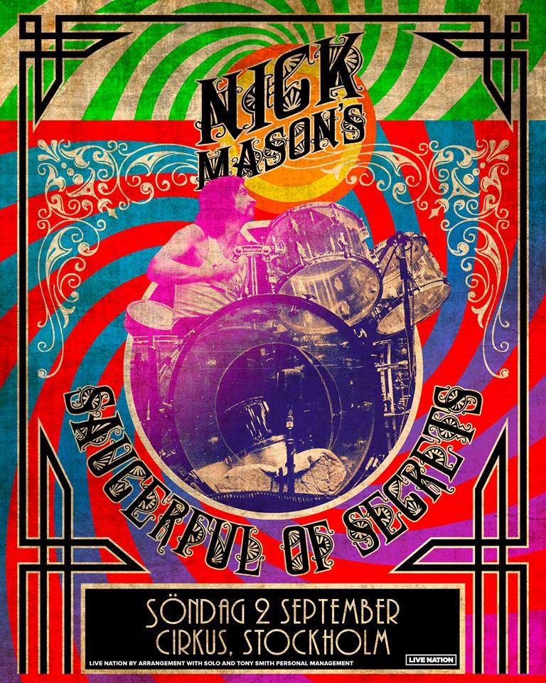 Nick Masons Saucerful Of Secrets-turné kommer till Sverige