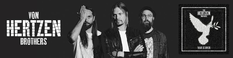 Von Hertzen Brothers ger ut textvideo till To The End Of The World (Radio Edit).