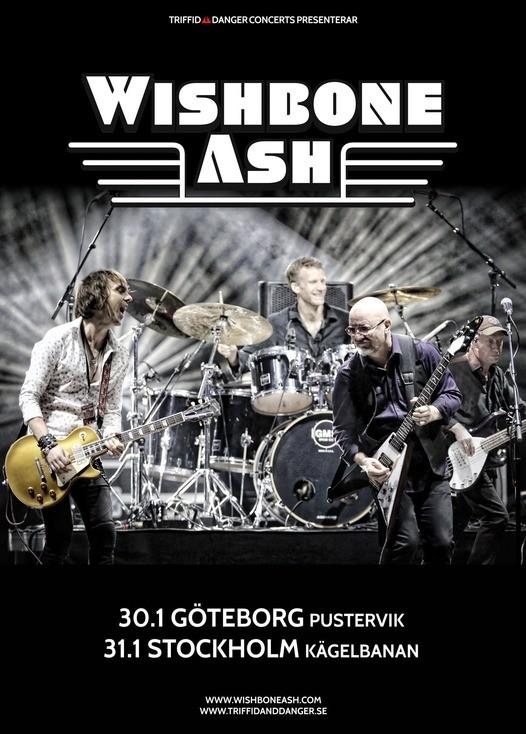 Wishbone Ash till Sverige nästa år.