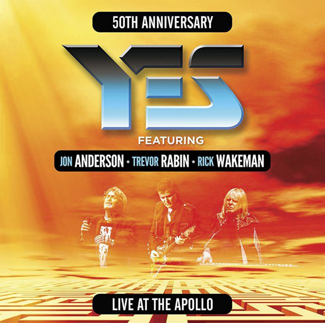 "Yes med ARW släpper liveplattan ""Live At The Apollo"" i September."