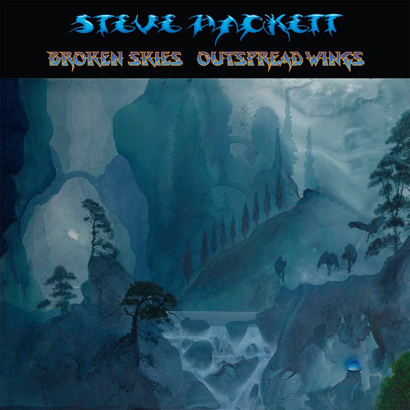 Broken Skies – Outspread Wings (1984-2006) – ny samlingsrelease från Steve Hackett.